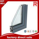 Perfiles de aluminio/de aluminio de la protuberancia para el perfil de la ventana (RAL-597)