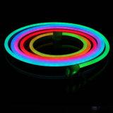Цифровой RGB LED Neon Flex лампа управляется DMX512