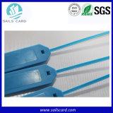 Joint en PVC de couleur différente de la RFID Tag pour le suivi des bagages