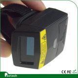 Scanner portable androïde Bluetooth de doigt de la technologie Fs01 de module de balayage à laser De code barres de PDA pour la mémoire de Pharmarcy, entrepôt de logistique