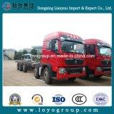Camion del trasporto del telaio 340HP del camion del carico di Sinotruk T5g 10X4