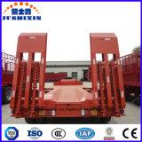 13m dei 3 assi di Lowbed rimorchio 50ton semi per le macchine della costruzione