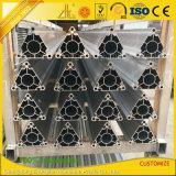 Personnalisés triangle industriel 6061 6063 l'aluminium pour tente de profil