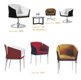 Jambes inoxydable Design cuir Chaise de loisirs moderne pour la maison