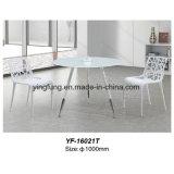 Tavolino da salotto caldo di vetro Tempered intercalare di vendita (YF-T16021)