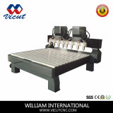 máquina do router do CNC do Woodworking 3D (VCT-2013R-2Z-8H)