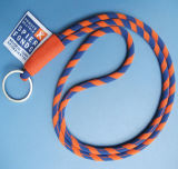 Bande de la corde de coton ronde Rainbow personnalisé Lanière de cou