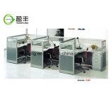 모듈 워크 스테이션 분할 나무로 되는 사무실 책상 Yf-G1403
