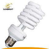 Metade espiral CFL lâmpada economizadora de energia de matérias-primas com marcação RoHS Certified