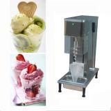 최신 인기 상품 탁상용 스테인리스 소용돌이 아이스크림 기계