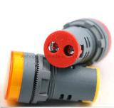 22mm medidor de tensión de la pantalla digital con LED indicador de señal