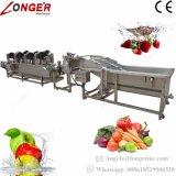 Machine à laver de haute qualité de la rondelle de fruits et légumes