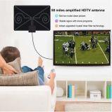 Innenantenne digital-HDTV verstärkte 50 Meilen-Reichweite 4K HD VHF-UHF Freeview