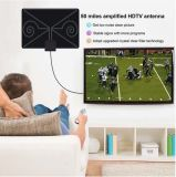 Antena amplificada HDTV digital interior 50 Mile série 4K HD Freeview UHF VHF