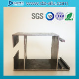 Profil en aluminium d'extrusion de l'Afrique du Nord pour la porte de guichet