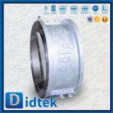 Didtek schnelles Anlieferungs-Form-Stahl-Oblate-Aufzug-Rückschlagventil