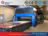 Máquina de doblez curvada cruz del vidrio Tempered de Southtech (HWG)