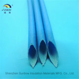 Hars van het Silicone van de glasvezel de Sleeving Met een laag bedekte voor de Bescherming van de Kabel van de Uitrusting van de Draad