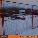 El panel temporal de la cerca de la construcción de Canadá