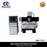Máquina de trabalho de madeira do único gravador de madeira principal do CNC do router (VCT-SH1325WDS)