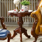 Sofá de madera sillas con mesa de ocio para muebles de exterior