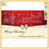 カスタム結婚式の招待状のバースデー・カードのクリスマスの挨拶状