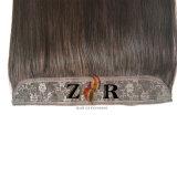 ハローの毛の拡張卸売の100%のインド人のRemyの人間フリップ