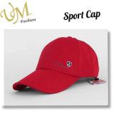 Personalizar o tampão do logotipo do bordado do algodão do chapéu dos esportes