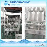 Автоматические завалка бутылки воды 5 галлонов и машина упаковки