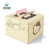 Коробка торта картона печатание гофрированной бумага