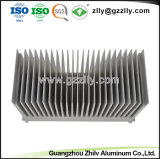 Het Aluminium Heatsink van het Bouwmateriaal voor Huishoudapparaten