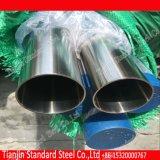 Pipe Polished de Rhs Shs du miroir solides solubles (304 304L 316 316L)