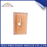 Caja elegante plástica del teléfono móvil del moldeo por inyección para la plantilla de la precisión