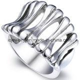 Anello Polished dell'acciaio inossidabile dei monili di modo alto