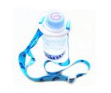 Acollador plástico del cuello del sostenedor de la botella de agua de Pringting de la hebilla