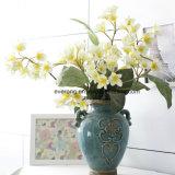 Mazzo di seta del fiore di Plumeria del Canada; Il Plumeria di seta fiorisce il fiore artificiale di cerimonia nuziale