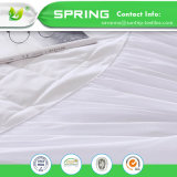 Respiráveis cabidos luxo Waterproof o protetor escovado do colchão do algodão enorme