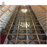 Neue Hochzeit des Entwurfs-LED positioniert Plexiglas-Stadien