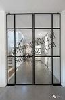 صنع وفقا لطلب الزّبون [ستينلسّ ستيل] [فولدينغ دوور] داخليّة زجاجيّة
