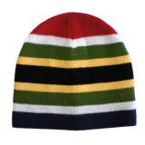 2018のスポーツによって編まれるしまのある帽子の帽子(JRK045)
