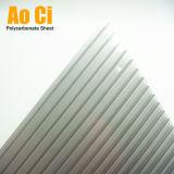 Roofing&Decoration를 위한 Gris Reflectivo 다중 벽 폴리탄산염 장