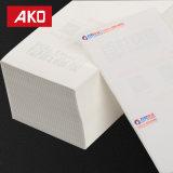 Escrituras de la etiqueta de envío blancas impermeables expresas de la escritura de la etiqueta de direccionamiento del trazador de líneas del papel cristal