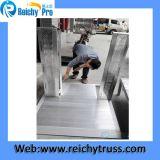 Barriere materiali di alluminio della barriera d'angolo