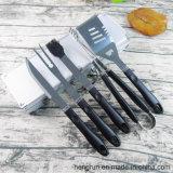 工具セット-エプロンが付いている4部分の始動機のバーベキューキット焼くステンレス鋼BBQ
