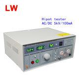 Verificador da tensão de Withstand da C.C. do verificador 5kv/100mA/AC da C.A. Hipot