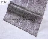 Leopard sellerie cuir velours tissus faits de manufacture chinoise