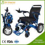 Fauteuil roulant se pliant électrique léger pour des handicapés