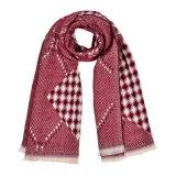 Кашемир 180*65cm женщин реверзибельный как шарф шали зимы теплый связанный сплетенный (SP255)