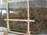 床タイルの/Countertop /Vanityの上のためのブラウンのEmperadorの中国の暗い大理石の平板か大理石