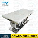 Muebles que cenan el vector de cena de mármol del acero inoxidable del total determinado del vector